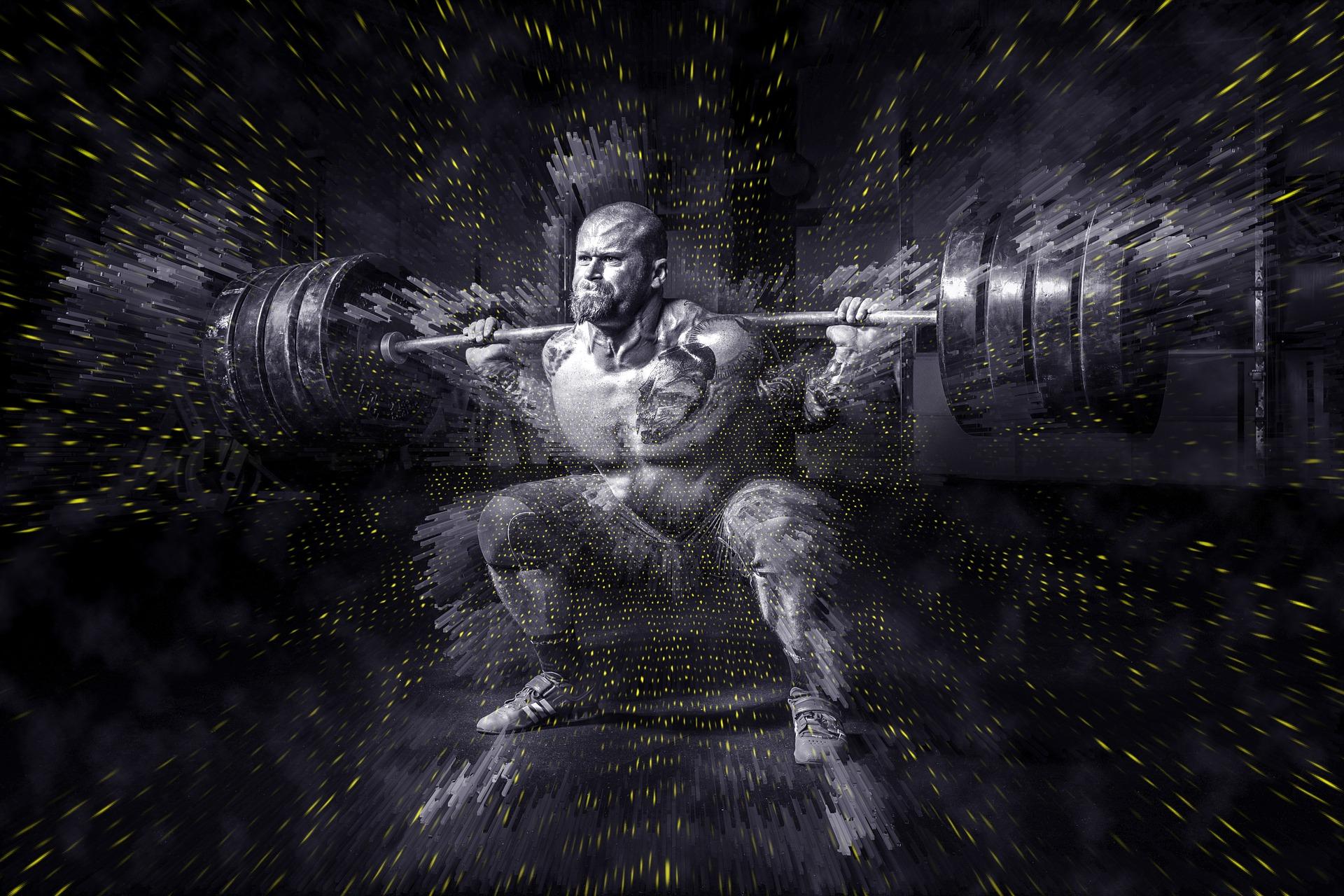 大きい筋肉は高い強度のトレーニングが必要